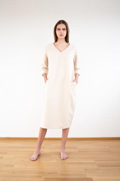 Zimní flanelové šaty
