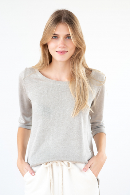 KOUSEK konopné tričko konopný svetr