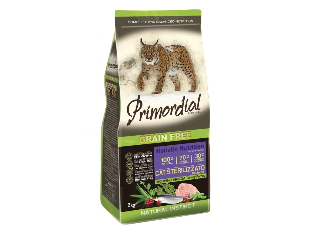 PGF Cat Sterilizzato Turkey & Herring 2 kg