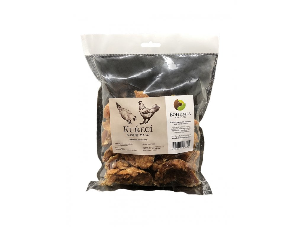 BOHEMIA Kuřecí sušené 350 g