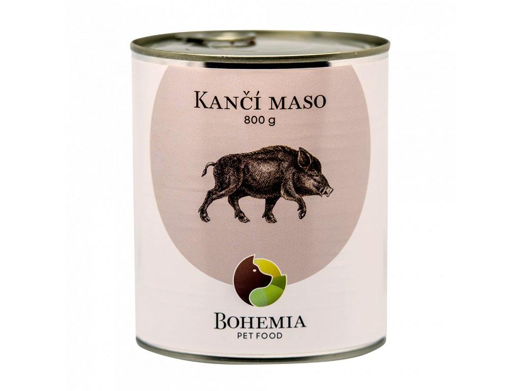 BOHEMIA Kančí maso ve vlastní šťávě 800 g