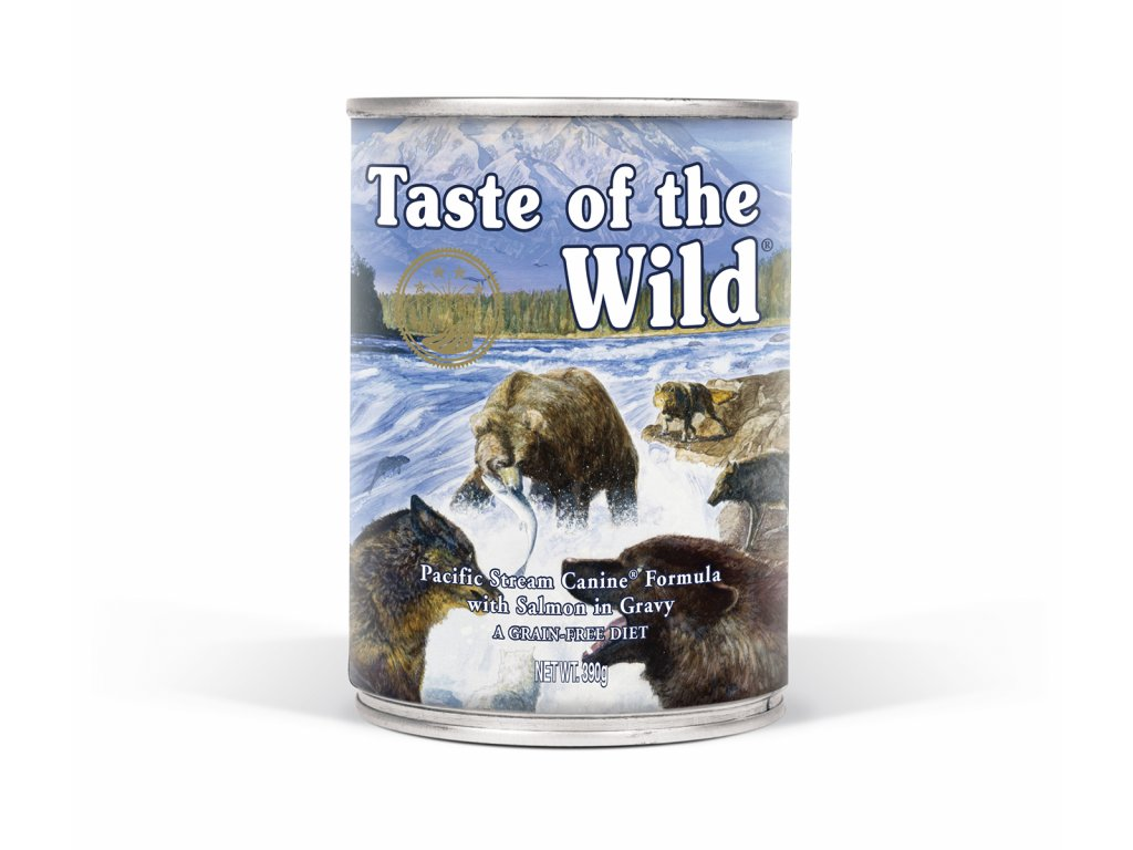Taste of the Wild Pacific Stream Can Dog 390 g