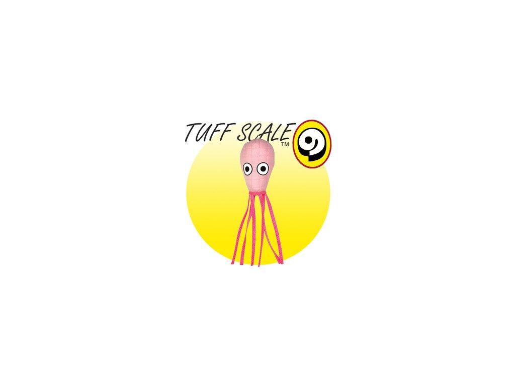 TUFFY Ocean Creature Squid Pink