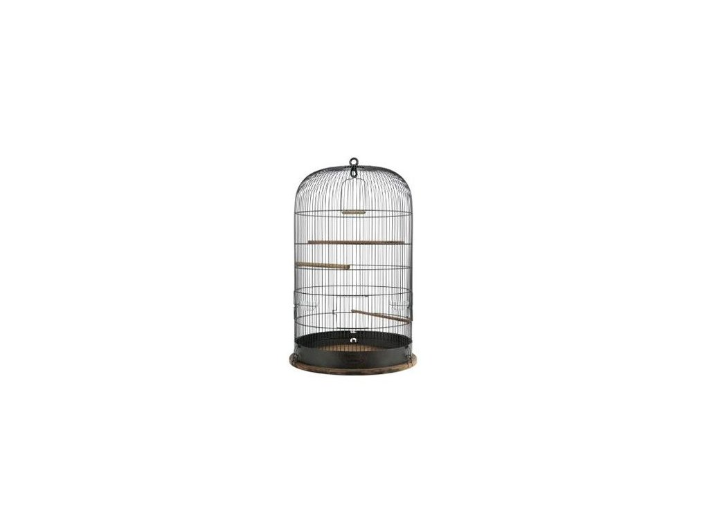 Klec ptáci RETRO MARTHE kov/dřevo 45x45x70cm Zolux