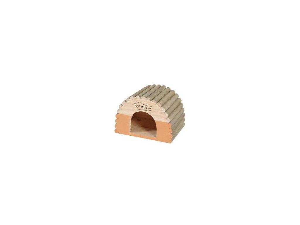 Domek pro hlodavce HOME COLOR PLUS M půlkruh Zolux