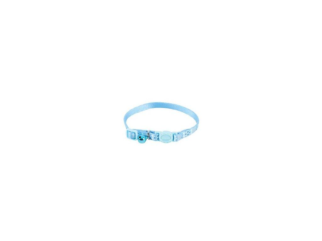 Obojek kočka ETHNIC nylon modrý Zolux