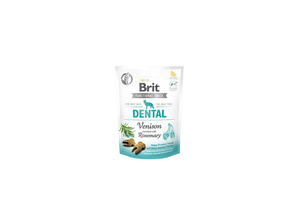 Brit Care Dog Functional Snack Dental Venison 150g