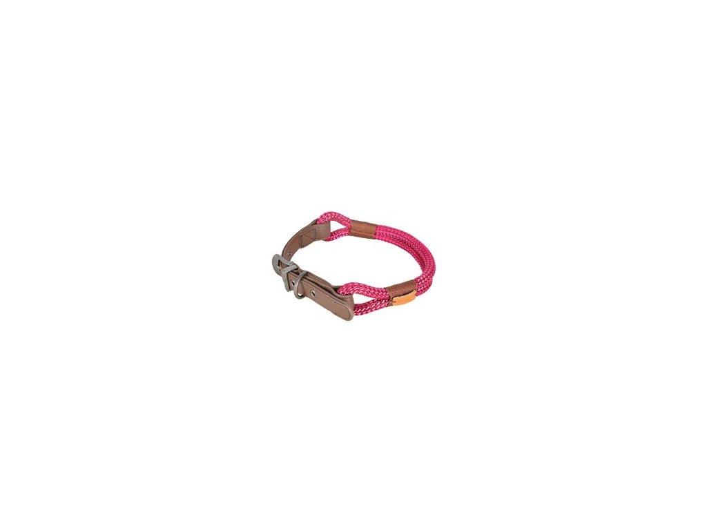 Obojek pes HYDE PARK nastavitelný červený 6mm 40cm Zol