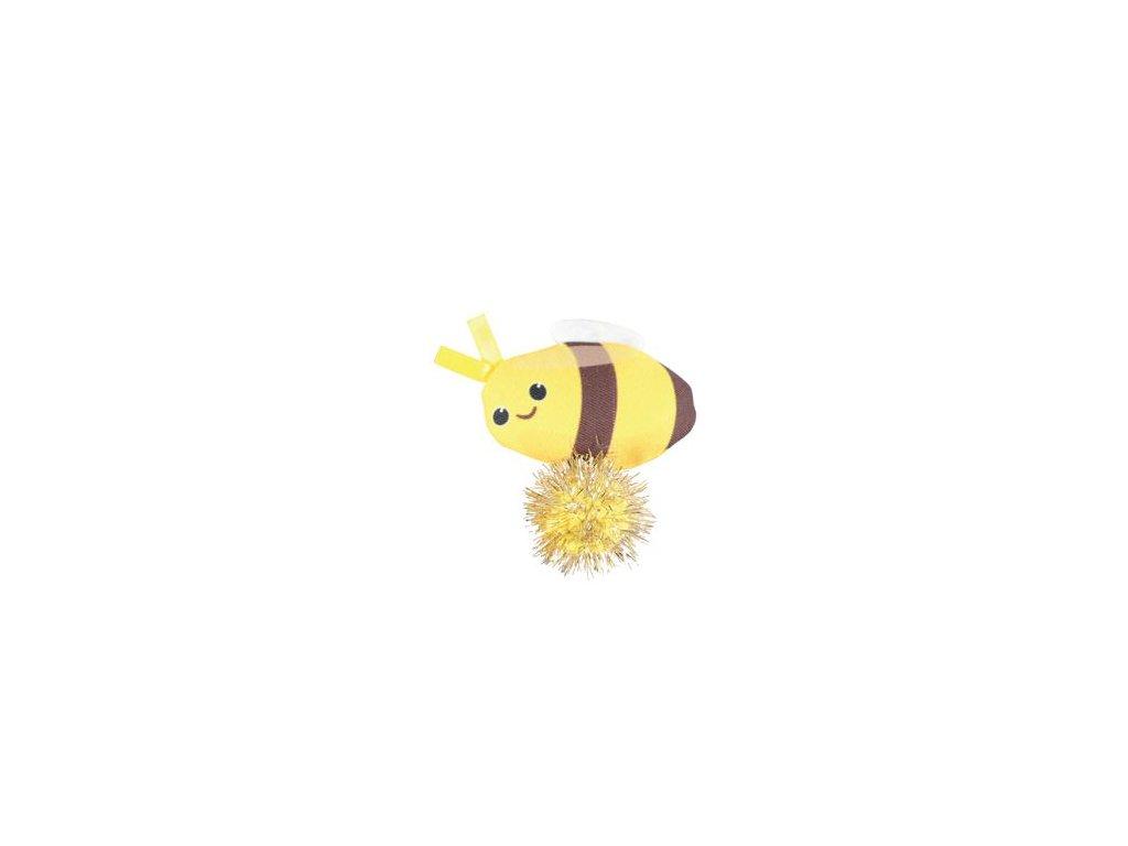 Hračka kočka LOVELY s šantou včela Zolux