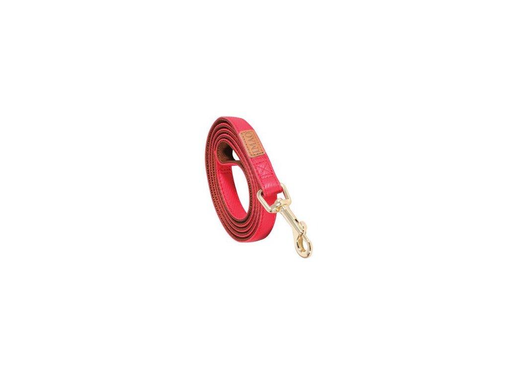 Vodítko pes MAYFAIR červená 20mm 1,2m Zolux