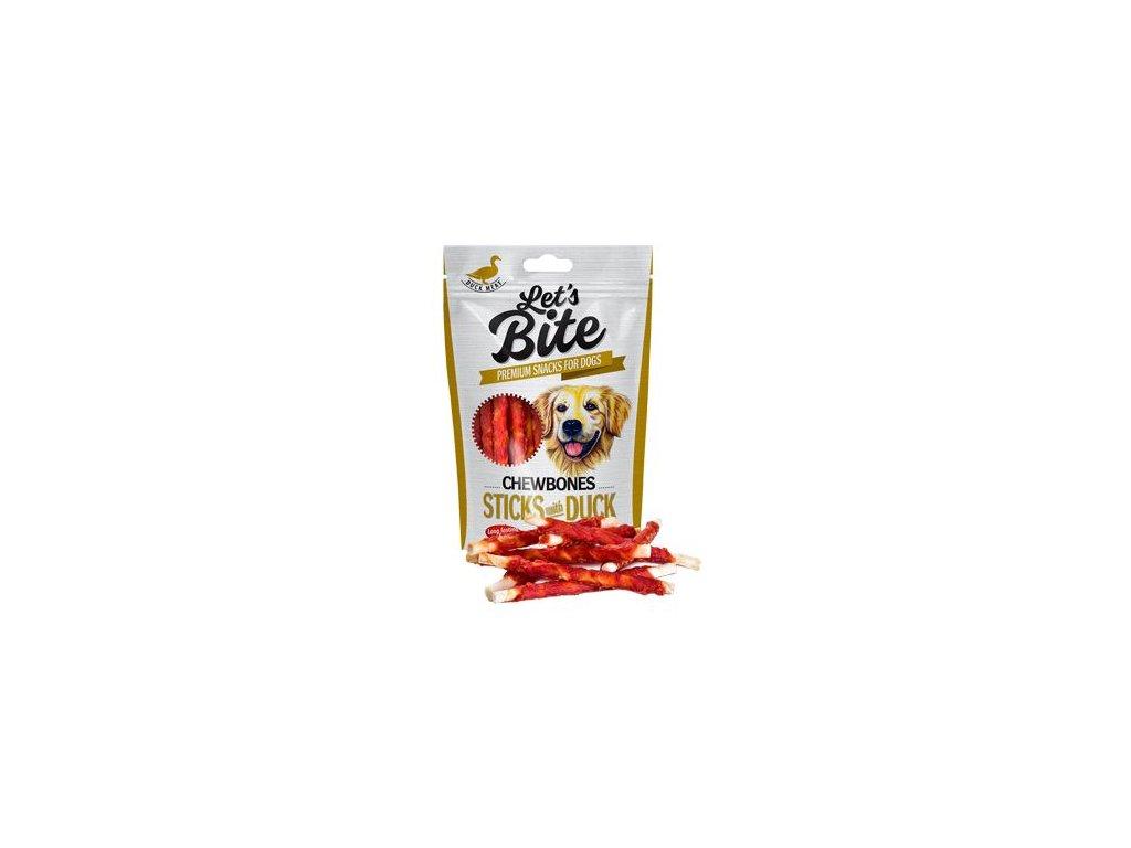 Brit Let's Bite Chewbones Sticks & Duck 80g