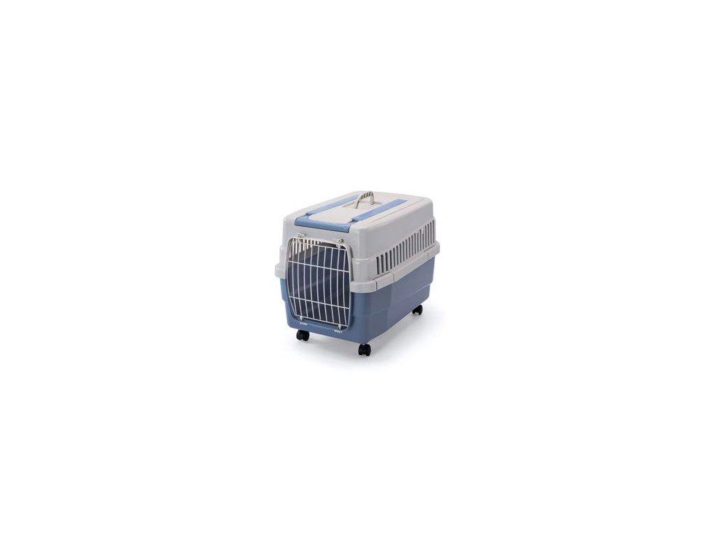 Přepravka IMAC na kolečkách plastová modrá 60x40x45cm