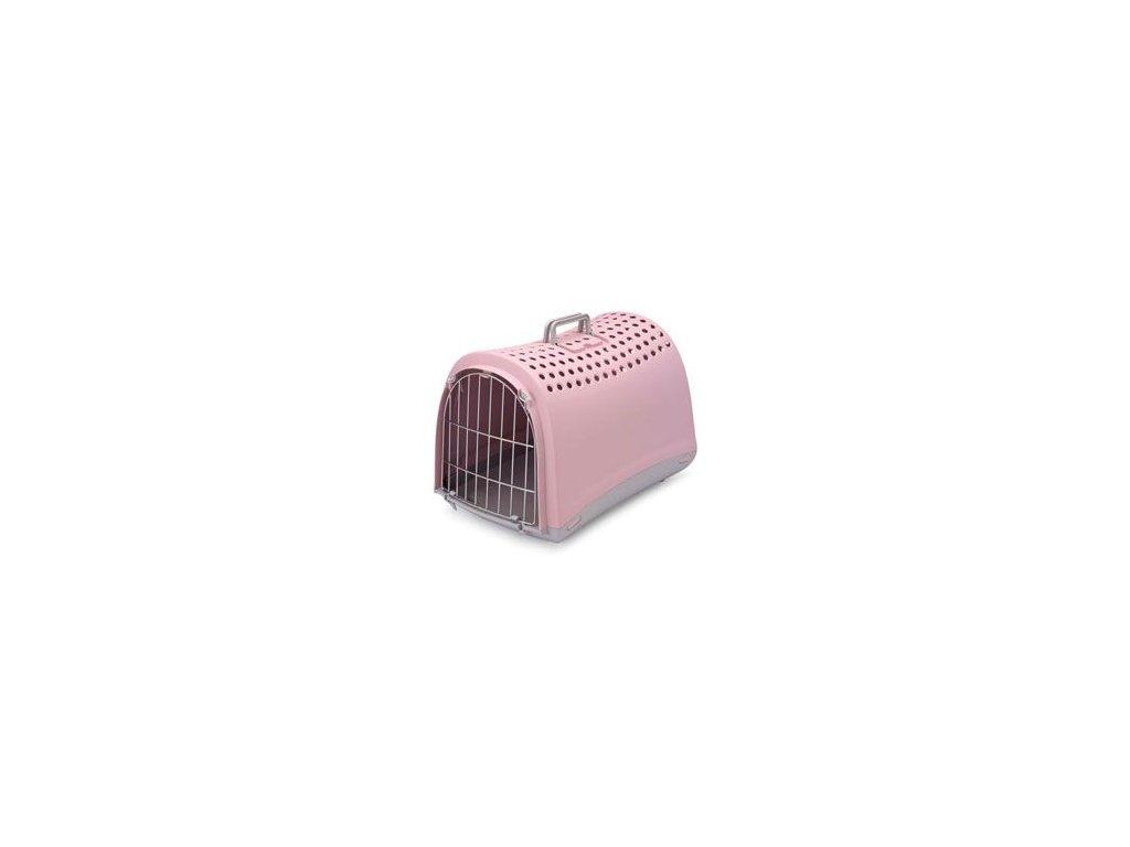 Přepravka IMAC plast růžová 50x32x34,5cm