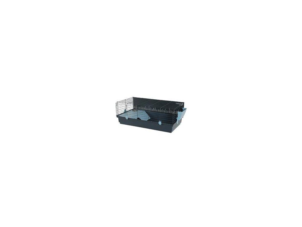 Klec morče INDOOR 2 100cm modrá/šedá s výbavou Zolux