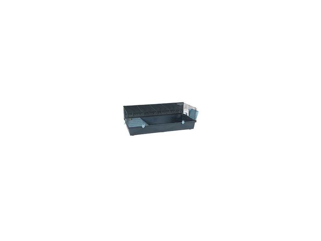 Klec morče INDOOR 2 120cm modrá/šedá s výbavou Zolux