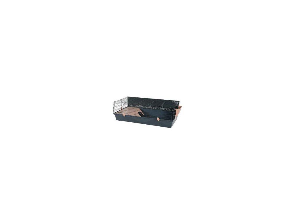 Klec morče INDOOR 2 120cm losos/šedá s výbavou Zolux