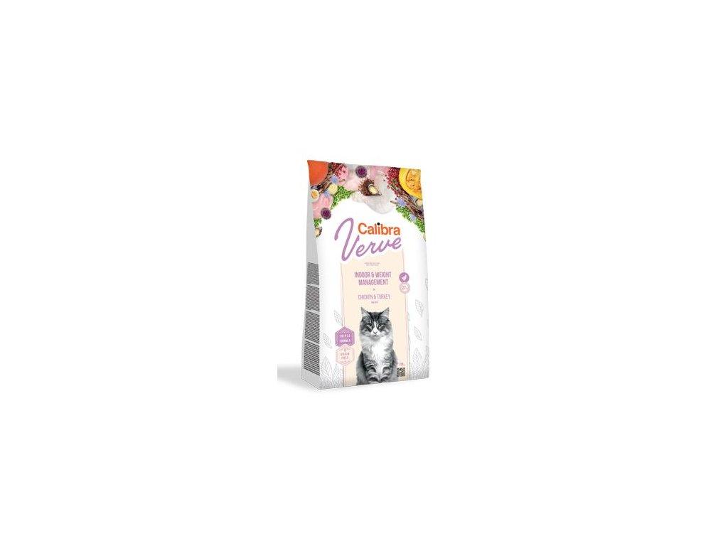 Calibra Cat Verve GF Indoor&Weight Chicken 3,5kg