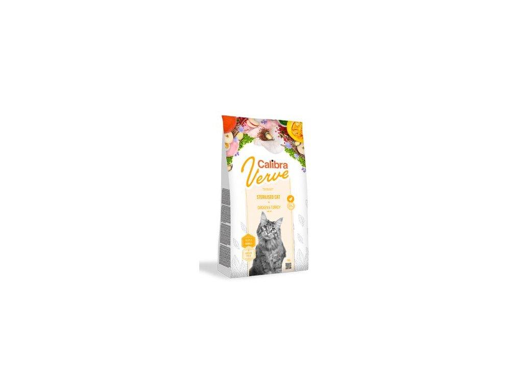 Calibra Cat Verve GF Sterilised Chicken&Turkey 3,5kg