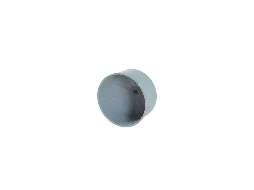 Kolotoč plastový průměr 15cm šedý Zolux