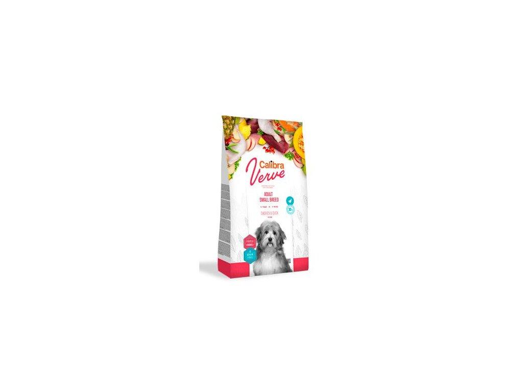 Calibra Dog Verve GF Adult Small Chicken&Duck 1,2kg