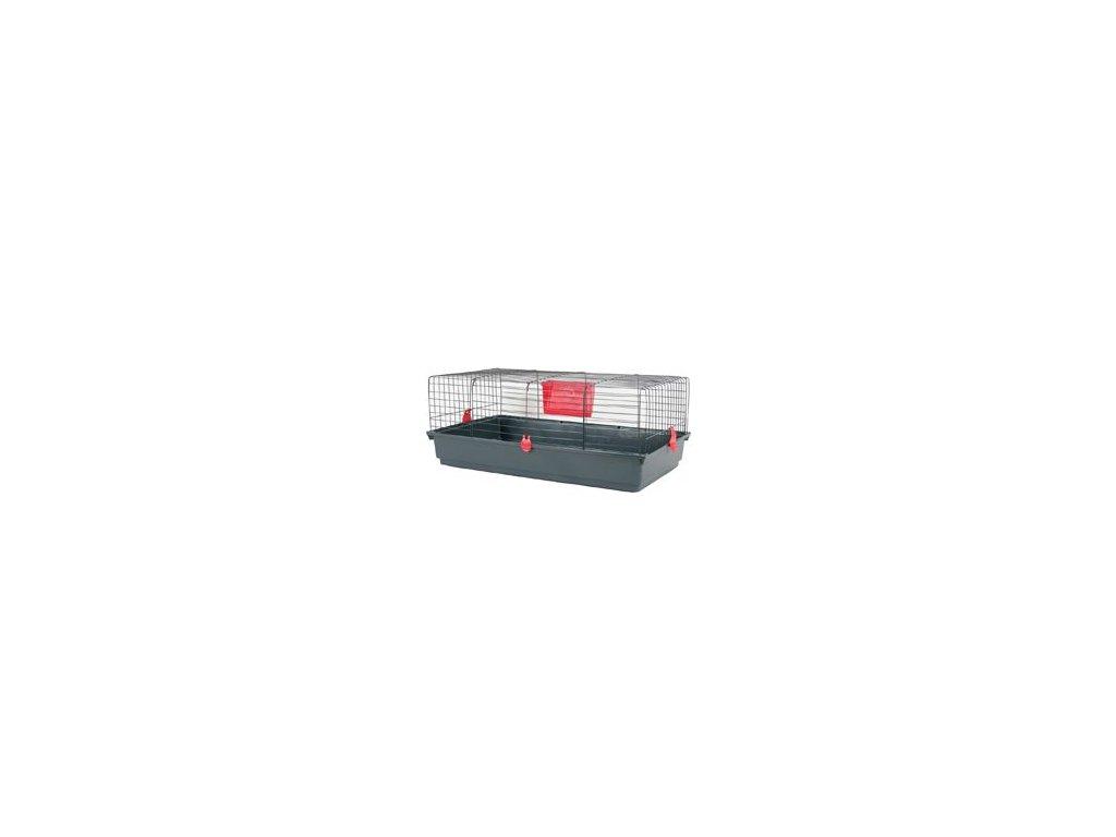 Klec hlodavec CLASSIC 100 černá/červená Zolux