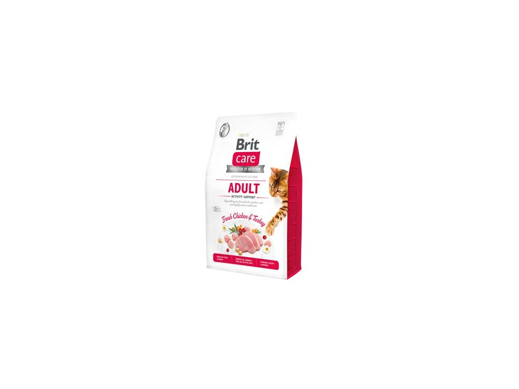 Brit Care Cat GF Adult Activity Support 2kg