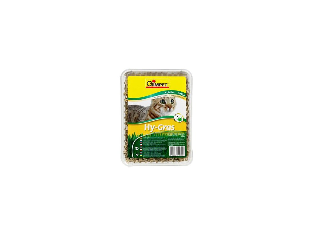 Gimpet kočka Tráva Hy-Grass 150g
