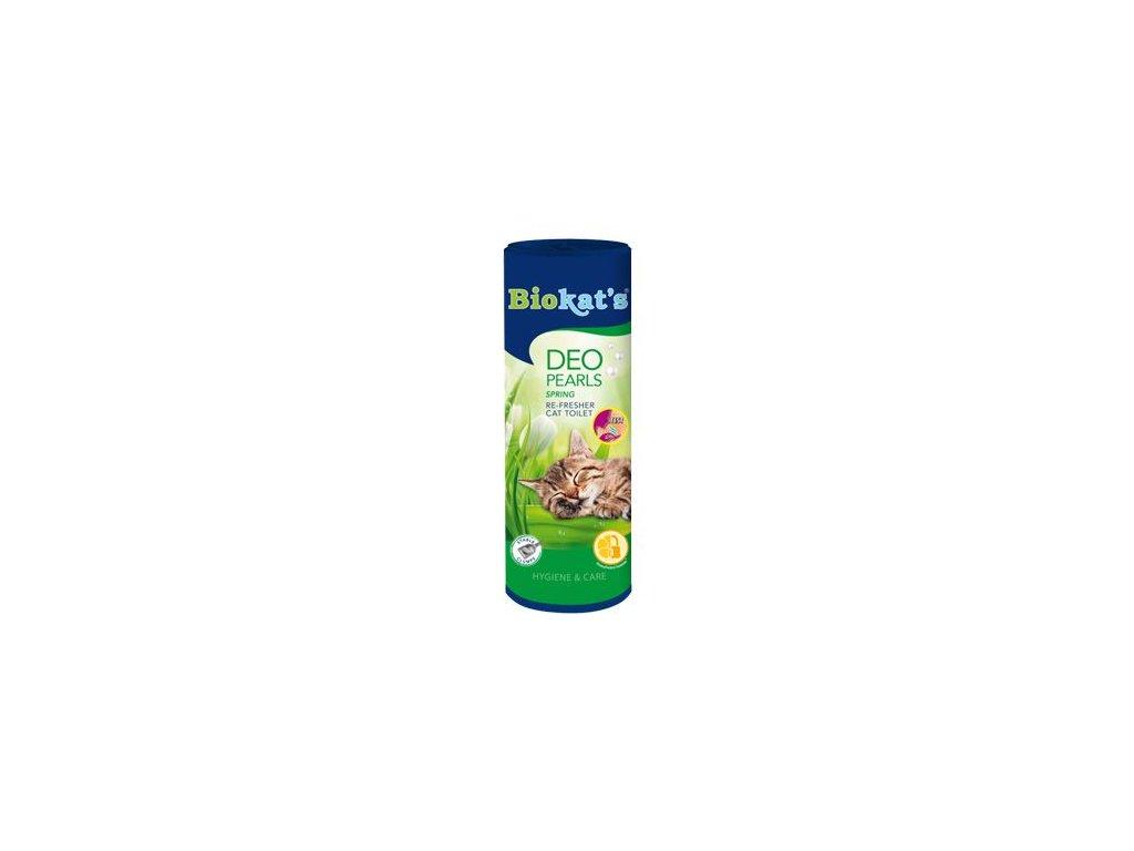 Biokat's osvěžovač WC white flowers 700g