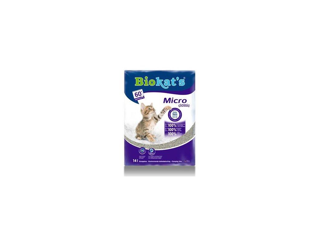 Podestýlka Biokat's MICRO CLASSIC 14l