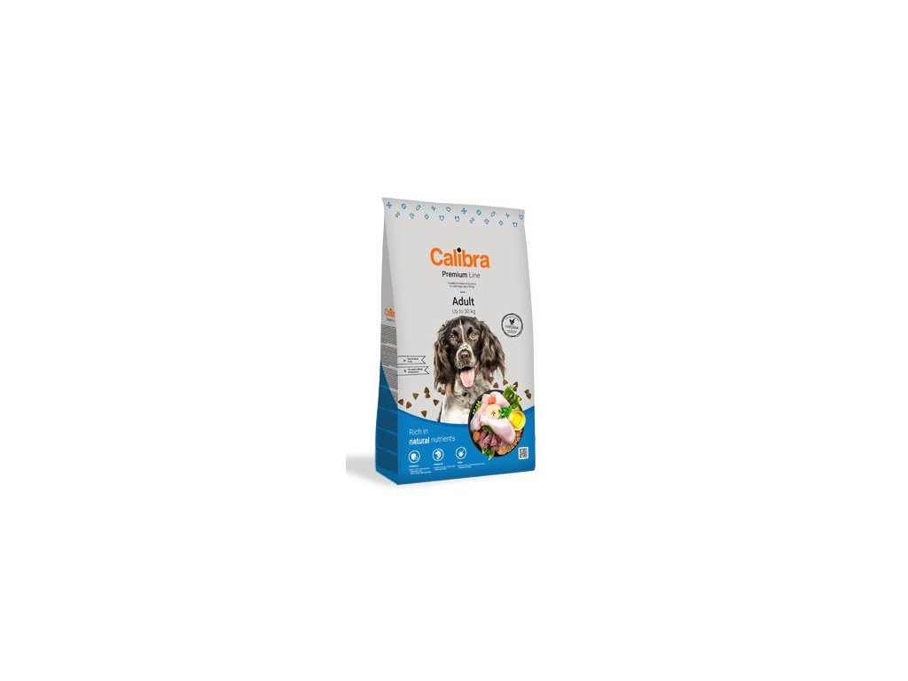 Calibra Dog Premium Line Adult 12 kg NEW