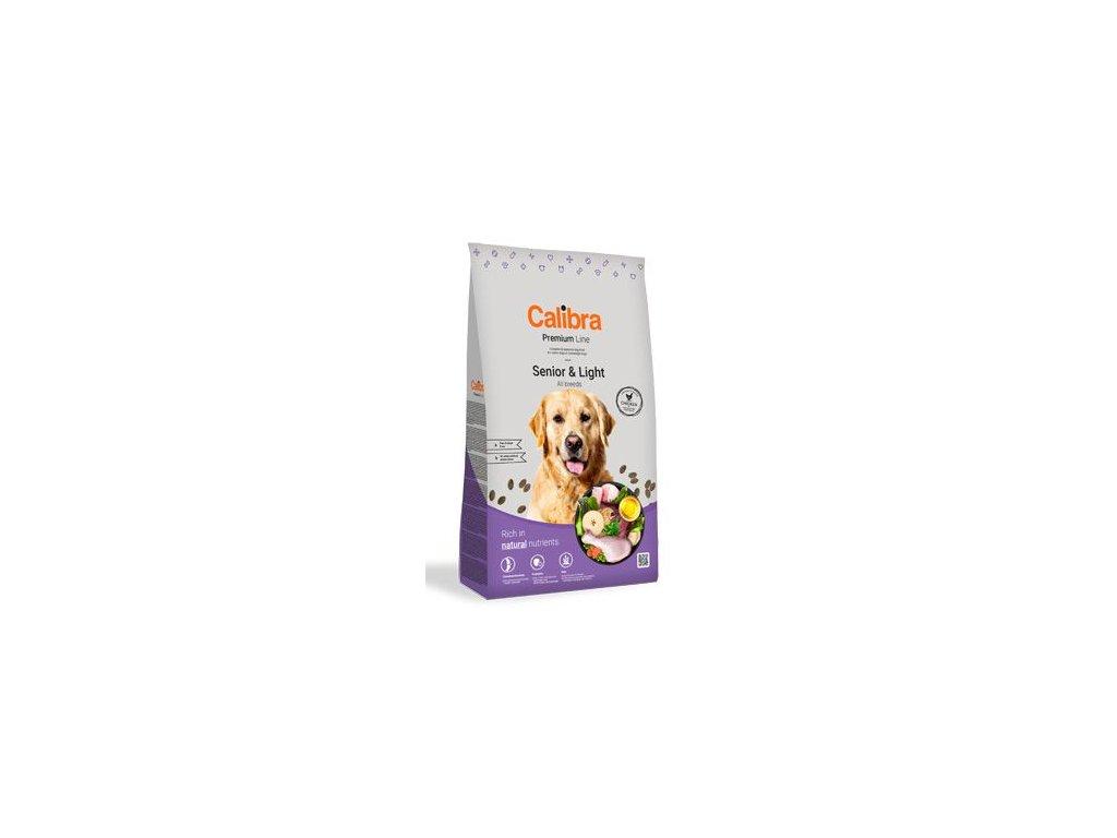 Calibra Dog Premium Line Senior&Light 12 kg NEW