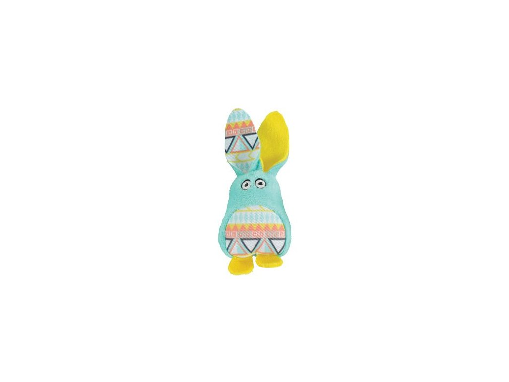 Hračka kočka KALI králík zelená Zolux