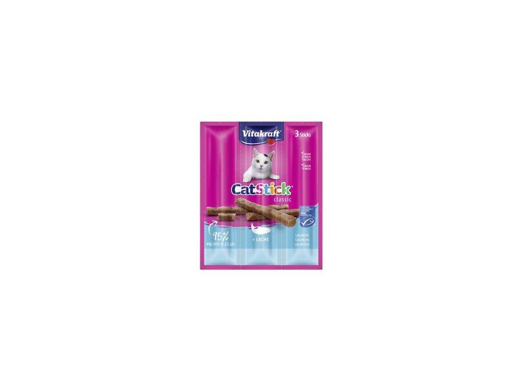 Vitakraft Cat pochoutka Stick mini Salmon 3x6g