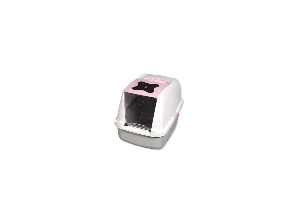 WC kočka kryté domek CATIT Design Růžov 56x38x48cm