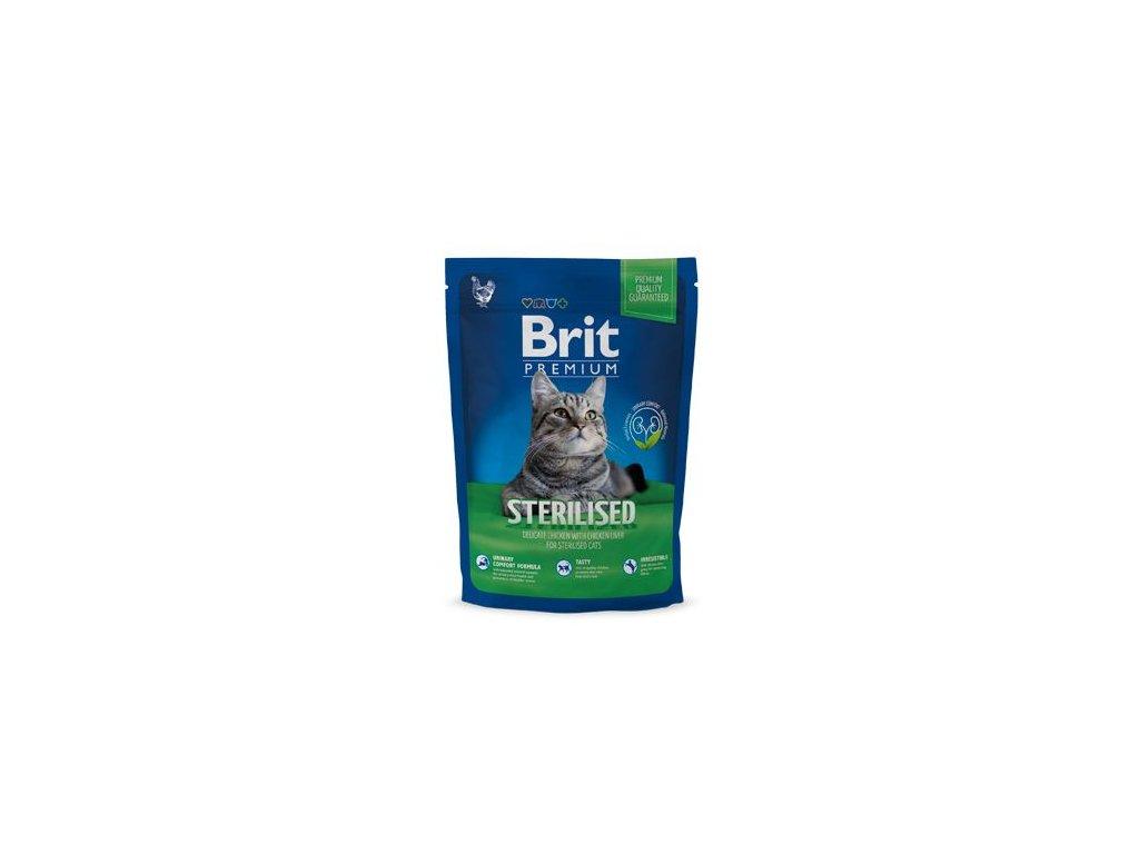 Brit Premium Cat Sterilised 800g NEW