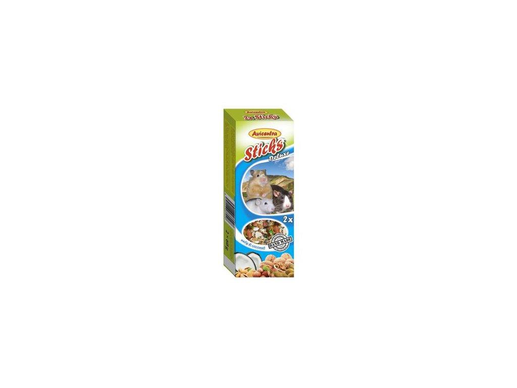 Avicentra tyčinky malý hlodavec - ořech+kokos 2ks