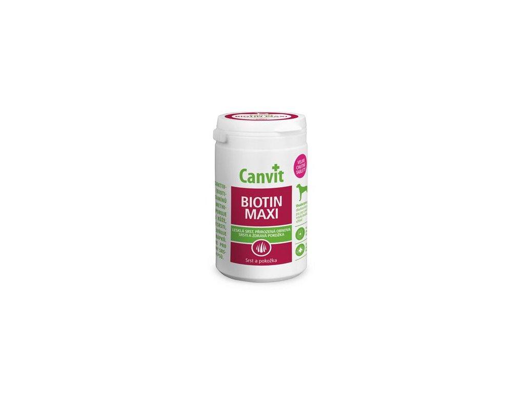 Canvit Biotin Maxi pro psy ochucený 230g