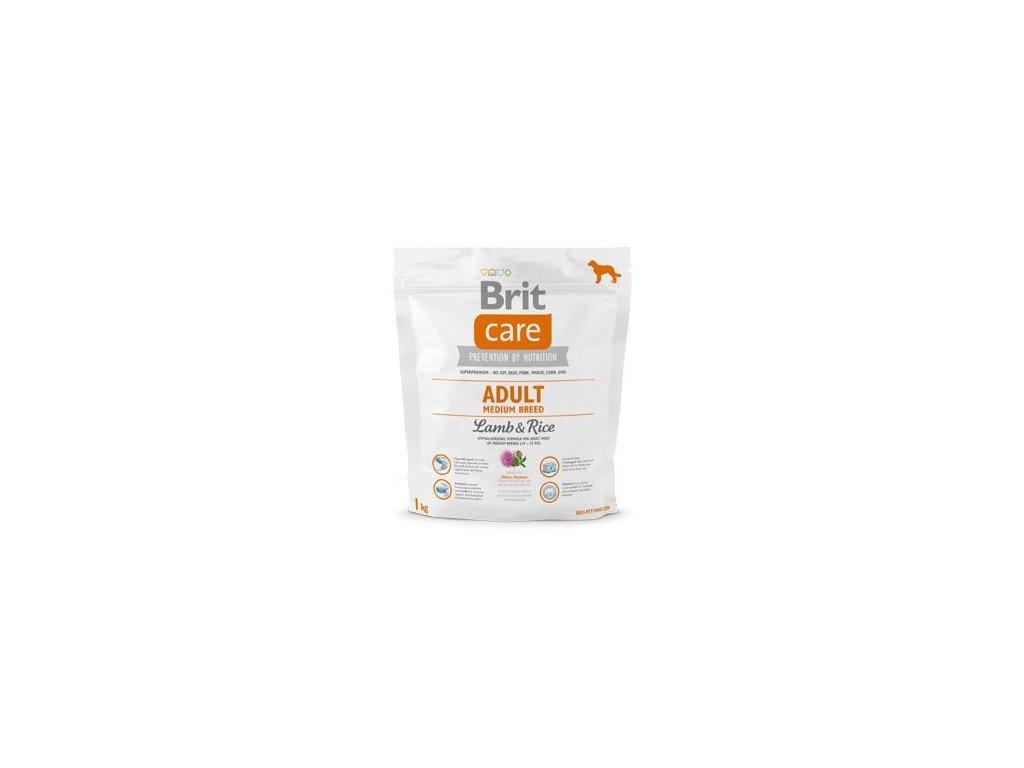 Brit Care Dog Adult Medium Breed Lamb & Rice 1kg