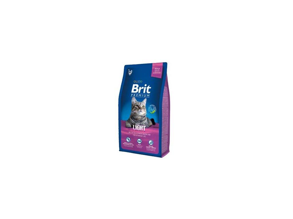 Brit Premium Cat Light 8kg NEW
