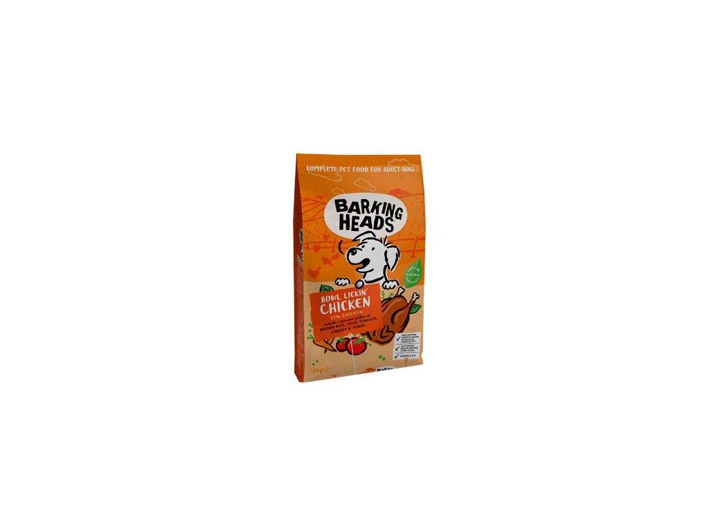 BARKING HEADS Bowl Lickin' Chicken 12kg+2 kg ZDARMA