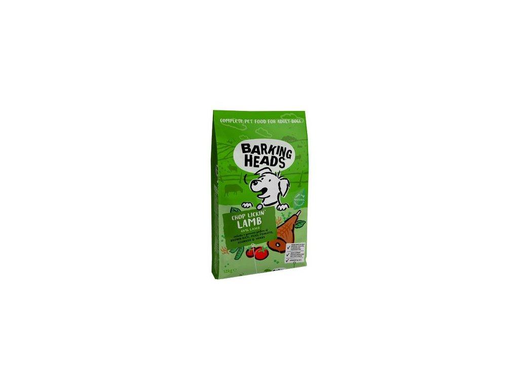 BARKING HEADS Chop Lickin' Lamb 12kg+2kg ZDARMA