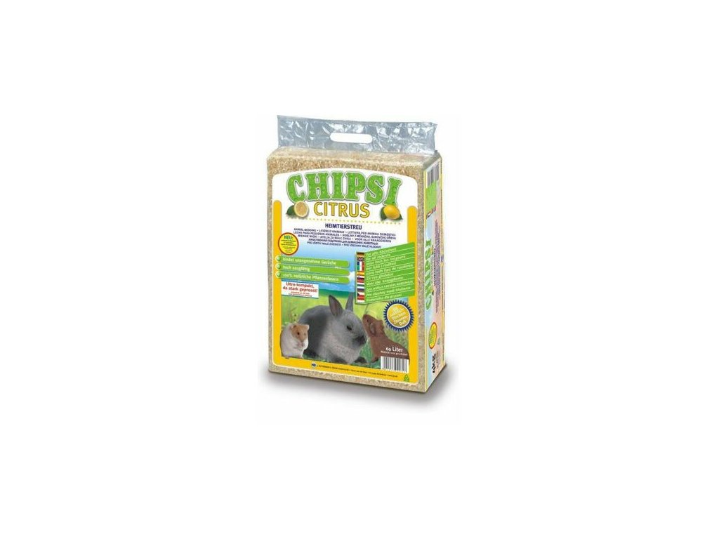 CHIPSI lisované hobliny CITRUS 60 L