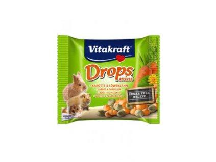 Vitakraft all Rodent poch. Carotties mini Drops 40g