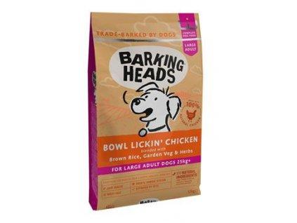 BARKING HEADS Bowl Lickin' Chicken (Large Breed) 12kg