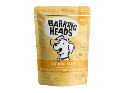 BARKING HEADS Fat Dog Slim kapsička NEW 300g