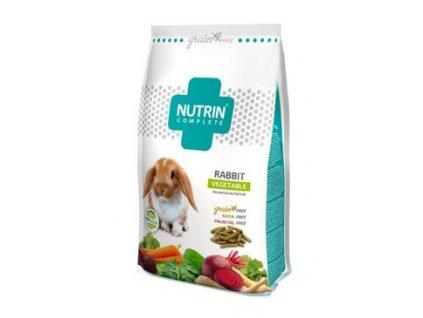 Nutrin Complete Grain Free Králík Vegetable 400g