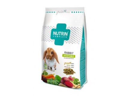 Nutrin Complete Grain Free Králík Vegetable 1500g