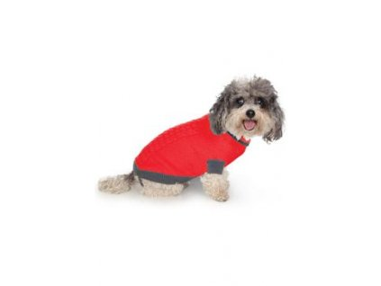 Svetr Liverpool pro psy červený 25cm