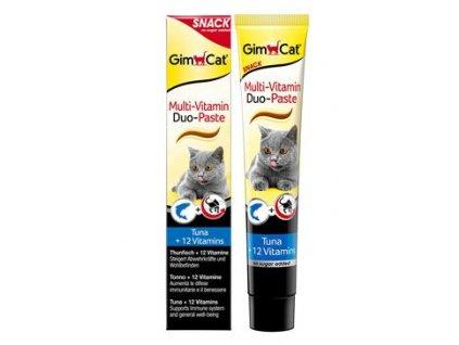 Gimcat Duo pasta multivitamín+tuňák 50g