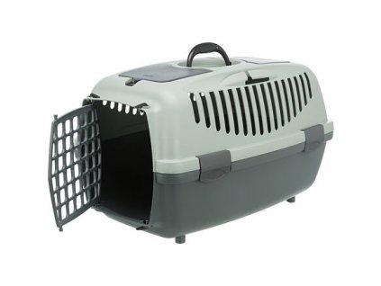 Be Eco Capri 2 transportní box, XS-S: 37 x 34 x 55 cm, antracit/ šedo-zelená